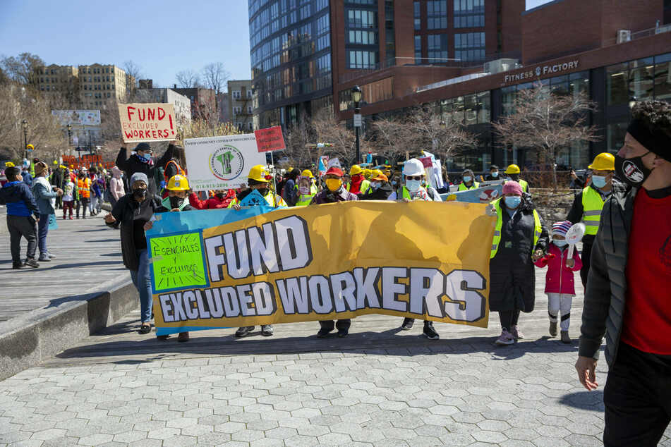 Excluded workers are concerned about the documentation they may need to provide in order to receive the funds.