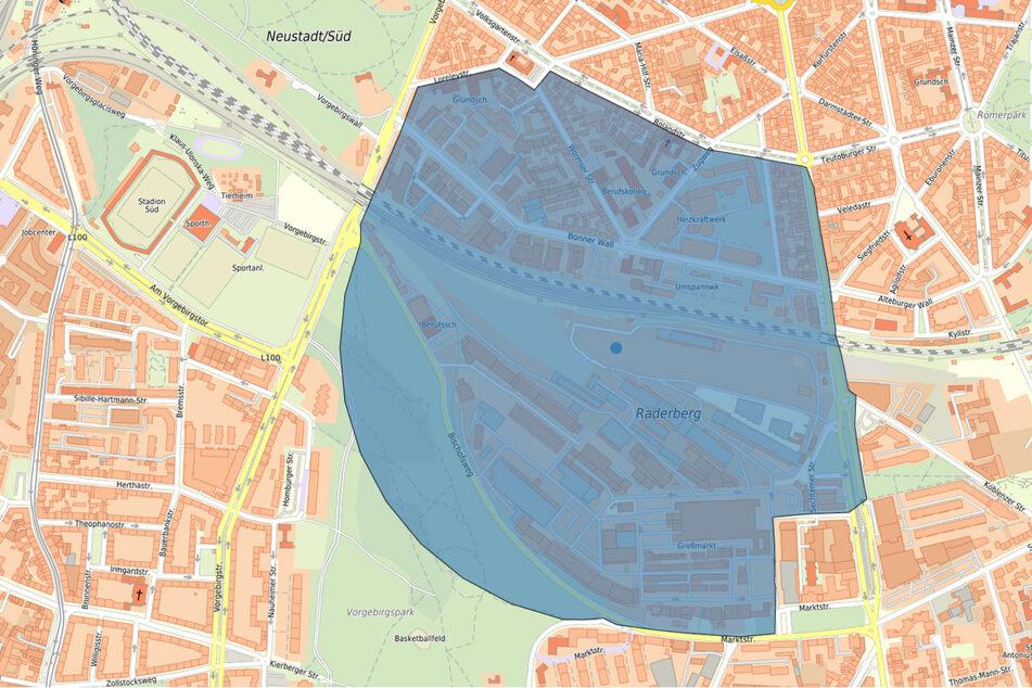 Von der Evakuierung in Köln sind nach dem Bombenfund in Köln-Raderberg 3000 Menschen betroffen.