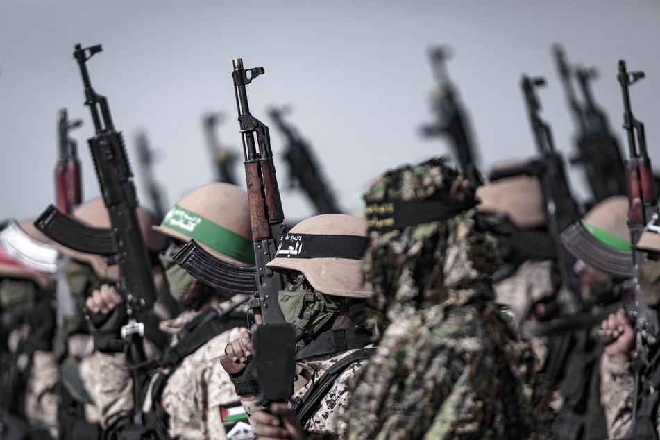 Die im Gazastreifen herrschende Hamas unterstützt palästinensische Kämpfer.
