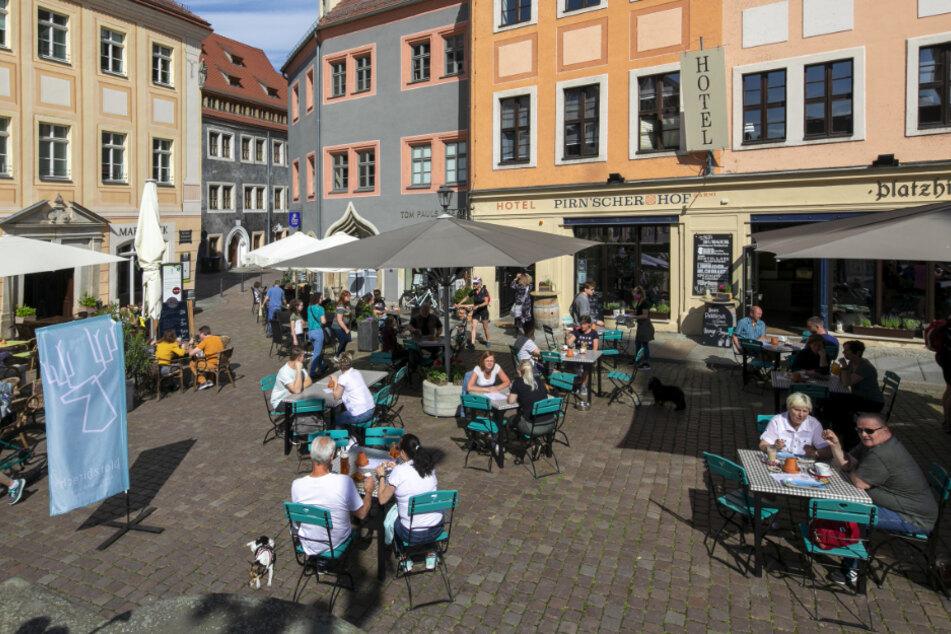 Die Altstadt von Pirna ist sehenswert.