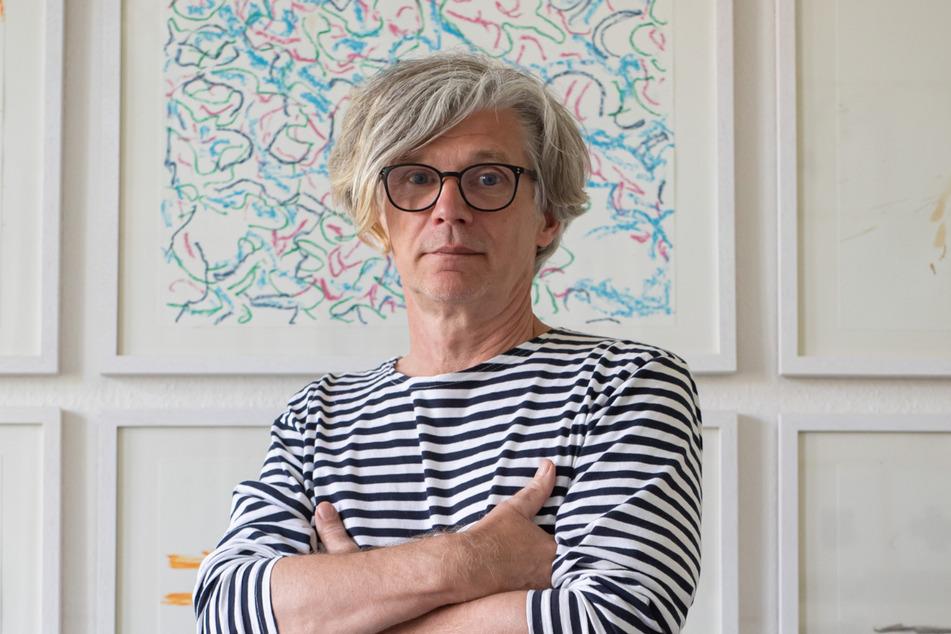 """Joerg Waehner (59) lebt heute als Künstler in Berlin - seine Anfänge waren in der """"Galerie Oben""""."""