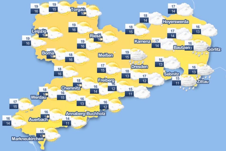Am Montag ist es noch einmal ungewöhnlich mild in Sachsen.