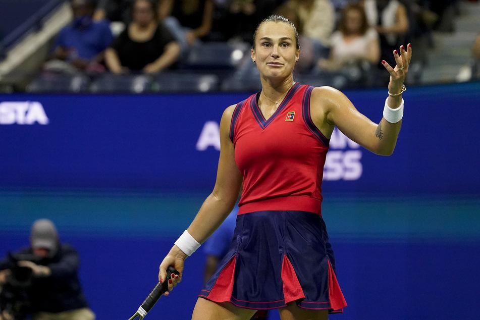 Die Weltranglisten-Zweite Aryna Sabalenka (23).