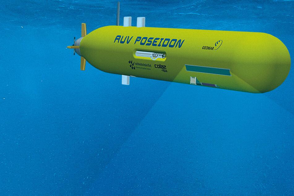 """""""Poseidon"""": Zentrum für Ozeanforschung entwickelt Unterwasserfahrzeug"""