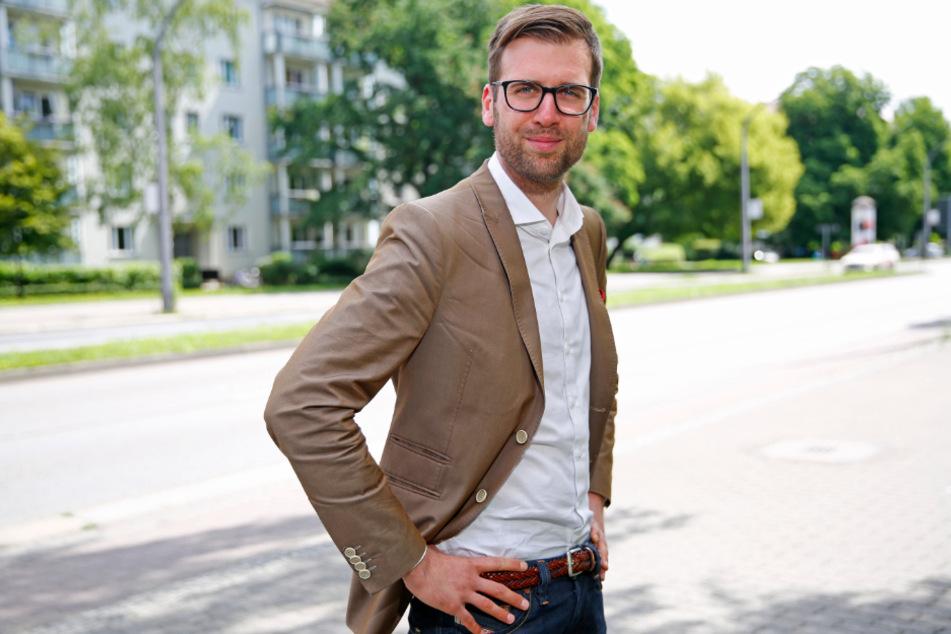 Richard Kaniewski (34, SPD) fordert vom OB ein Konzept zur Kulturförderung.