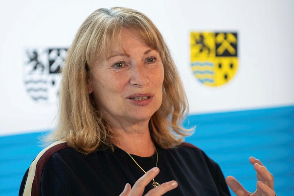 Sachsens Gesundheitsministerin Petra Köpping (63, SPD).