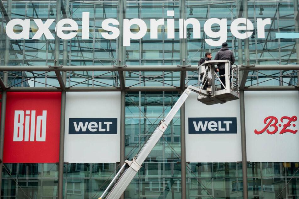 Am Montag teilte der Medienkonzern Axel Springer in Berlin mit, dass Deutschlands größte Boulevardzeitung Bild einen eigenen TV-Sender plant. (Symbolfoto)