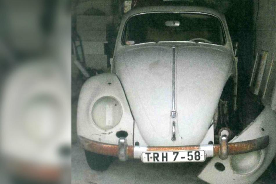 Historischer Käfer aus Garage geklaut