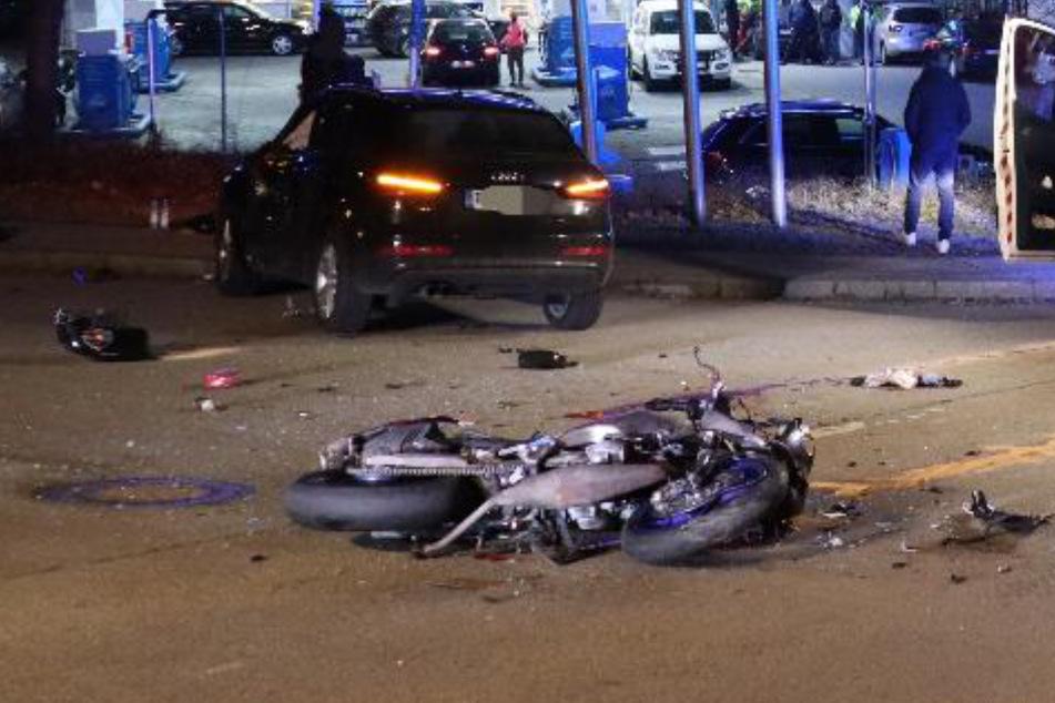 Tragischer Unfall: Fahranfänger übersieht jungen Motorradfahrer