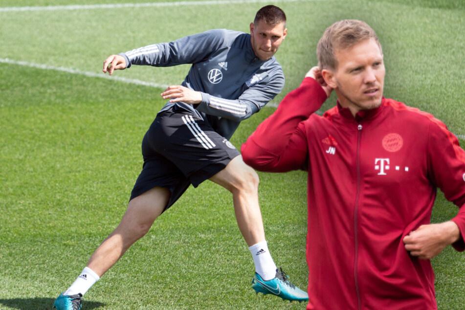 Julian Nagelsmann (33, r.) hat Niklas Süle (25) in einem Interview ermahnt.