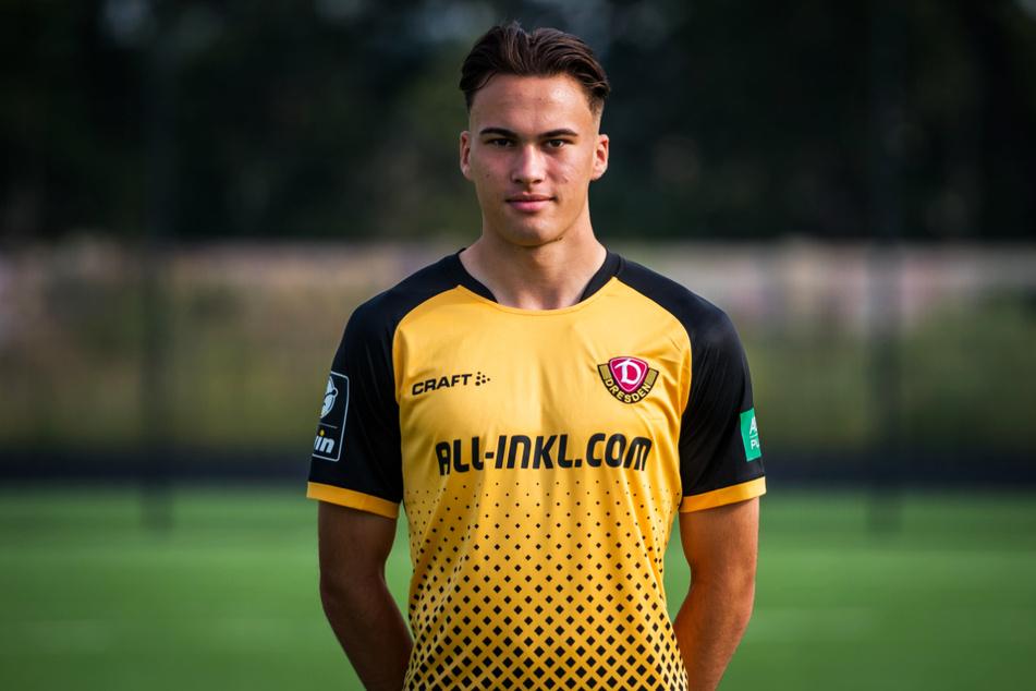Dynamos Eigengewächs Simon Gollnack (19) darf sich Alexander Schmidt (52) mit guten Leistungen aufdrängen.
