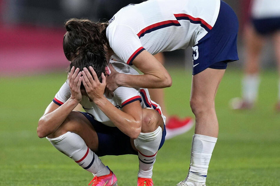 Olympics: USWNT suffers painful loss to Canada in soccer semifinals