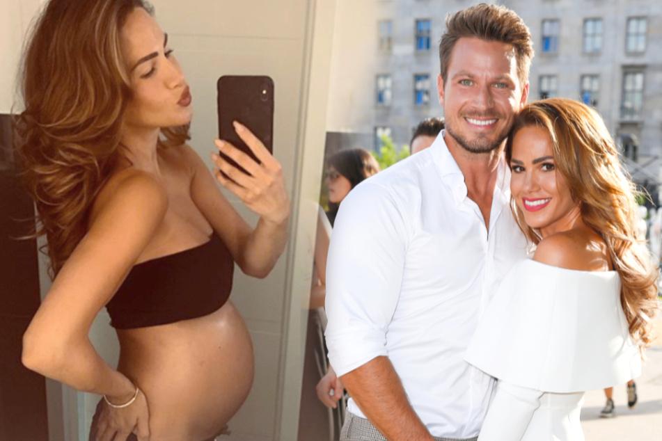 Die beiden erwarten in Kürze ihr erstes gemeinsames Baby.