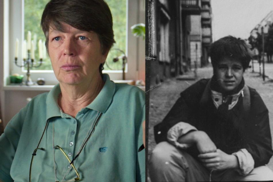 Pat, die in Mecklenburg-Vorpommern aufgewachsen ist, heute und damals.