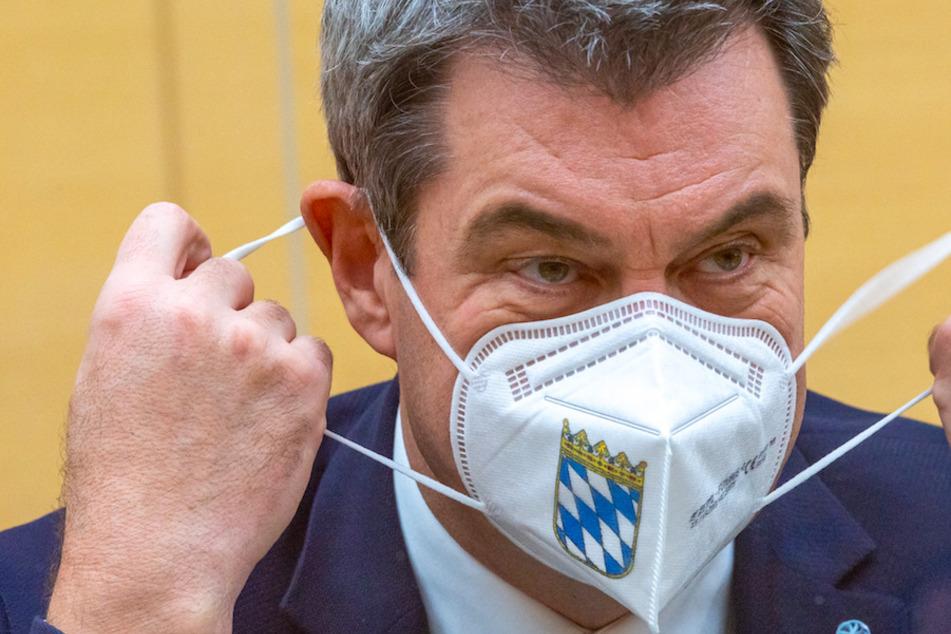 Sicherheitspuffer für Mutanten? Söder fordert angepasste Corona-Strategie vom Bund