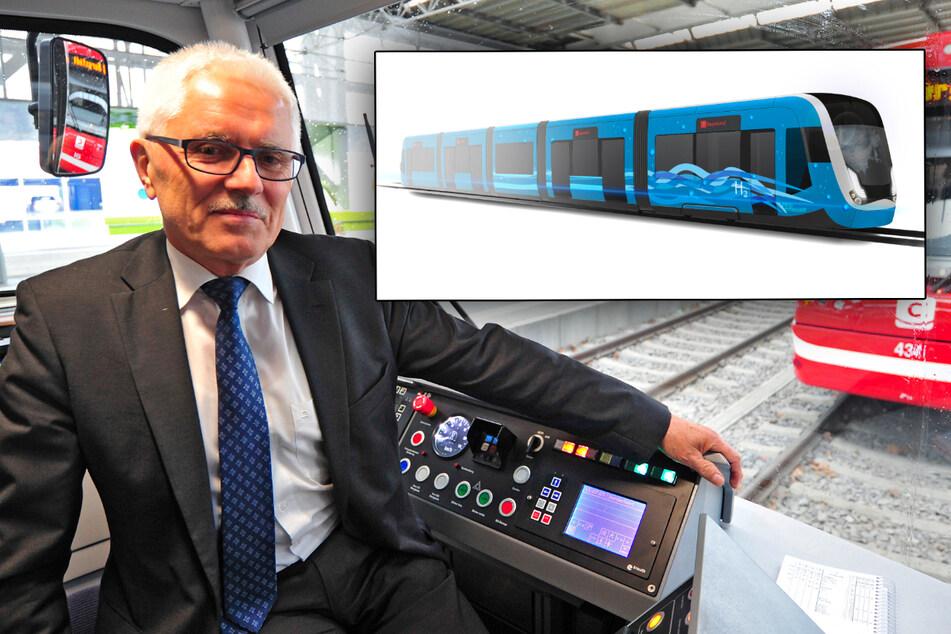 Chemnitz: Sächsische Unternehmen wollen erste Wasserstoff-Tram Europas bauen