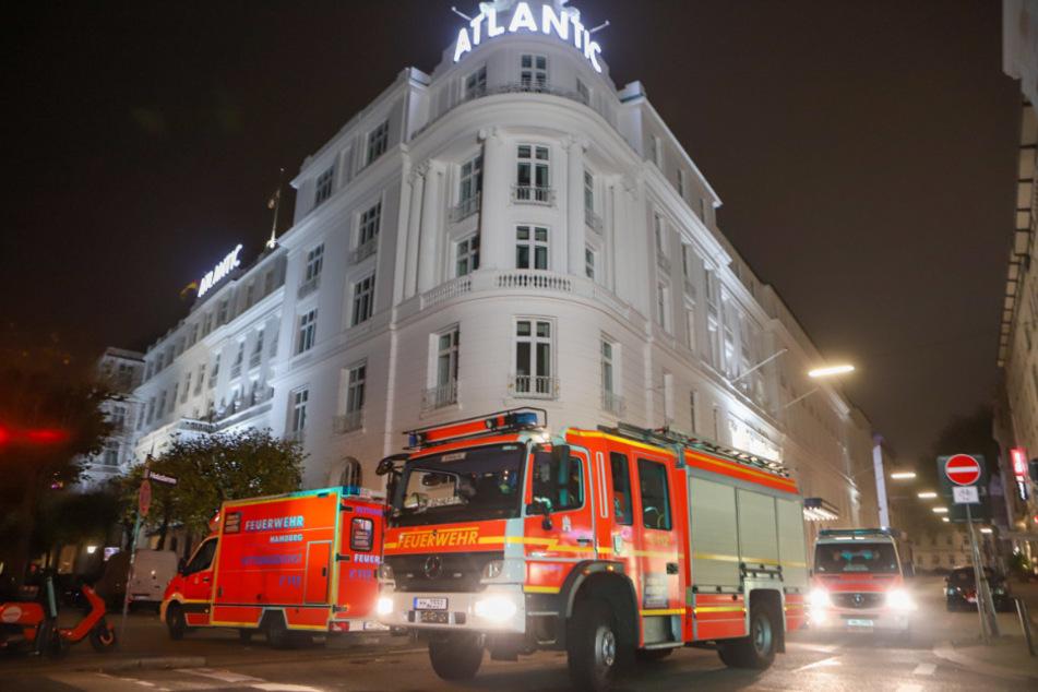 Einsatz vor Atlantic Hotel! Passanten melden Schüsse