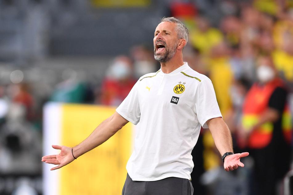 Seit vergangenem Sommer trainiert Marco Rose (45) den BVB. In Gladbach kann er sich auf einen ungemütlichen Empfang einstellen.