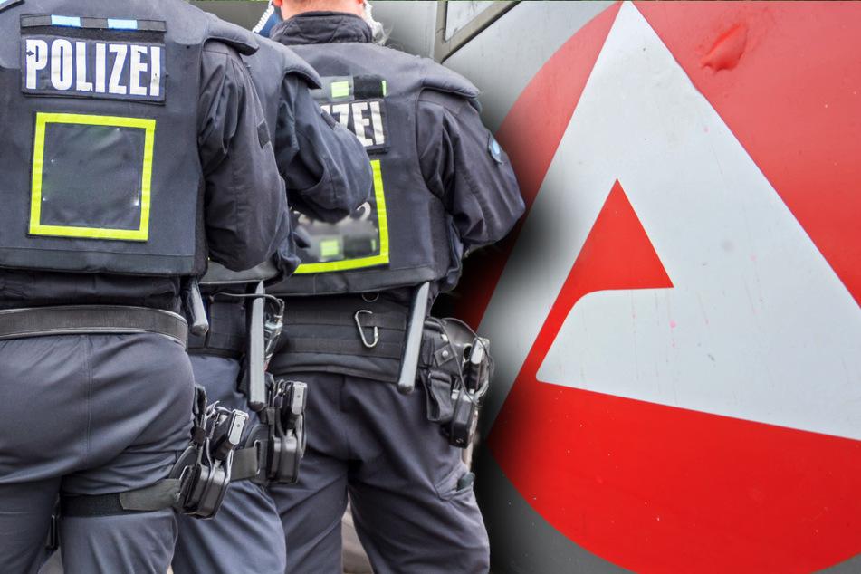 Ein Hartz-IV-Empfänger (34) aus Lichtentanne drohte, die Arbeitsagentur in Werdau in die Luft zu sprengen. Kurz darauf bekam er Besuch von der Polizei (Symbolbild).