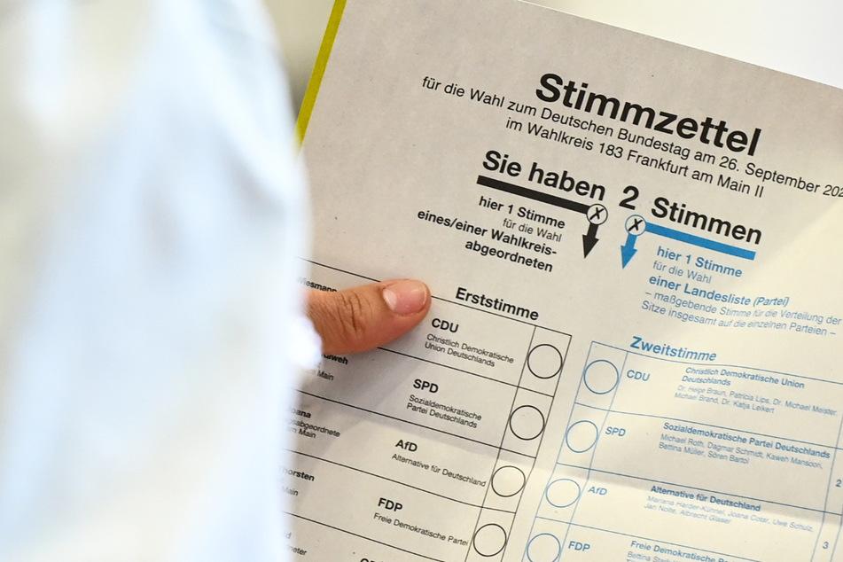 Die Bundestagswahl 2021 ist gelaufen: In Hessen ging die SPD als deutlich stärkste Kraft aus der Wahl hervor. (Symbolbild)