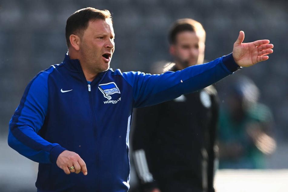 Hertha-Coach Pal Dardai (45) will aufgrund der langen Verletztenliste nicht lamentieren und sieht seine Mannschaft gut darauf vorbereitet.