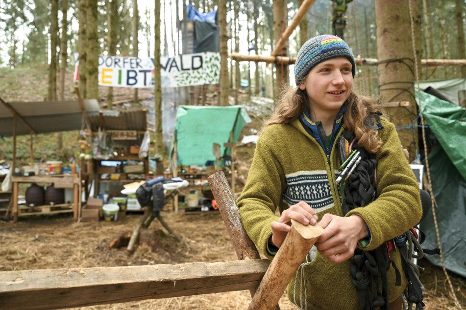 Klimaaktivisten besetzen Wald in Vogt: Endet die Besetzung wie im Hambacher Forst?