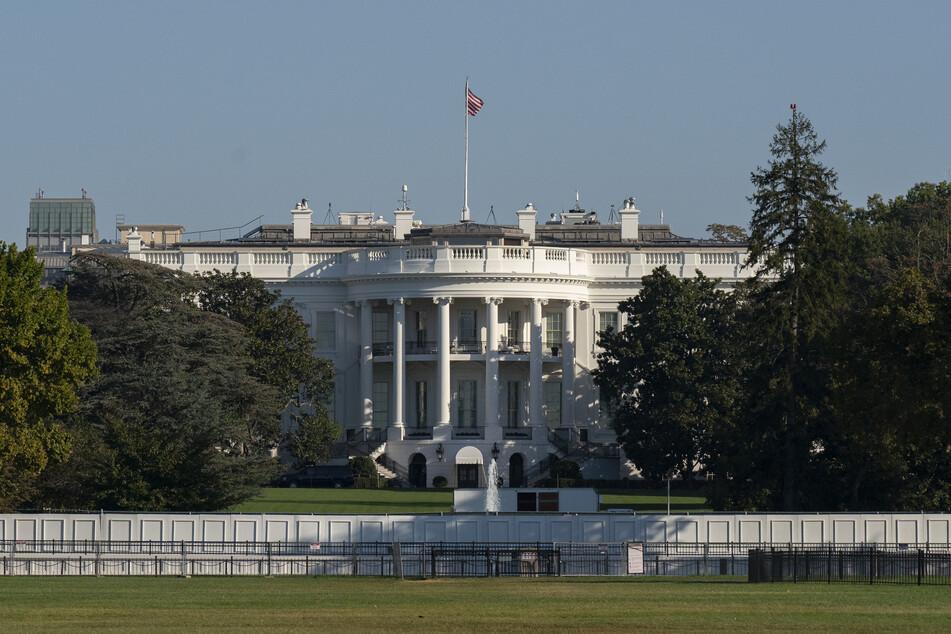 Das weiße Haus in Washington. Seit dem 20. Januar ist es der Regierungssitz von US-Präsident Joe Biden.