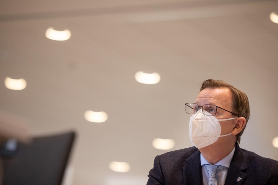 Ministerpräsident Bodo Ramelow erhält Corona-App-Warnung, nun liegt das Testergebnis vor