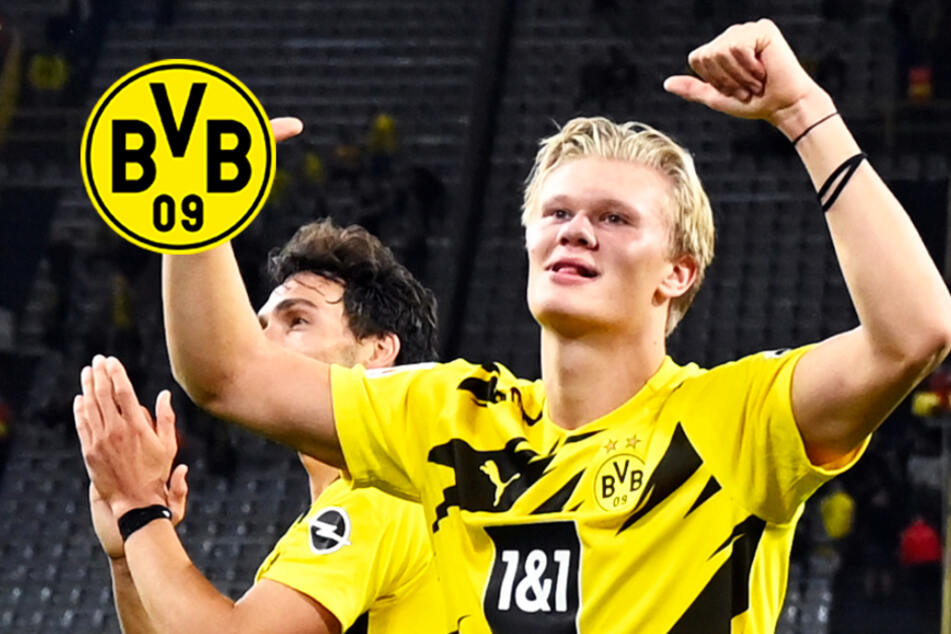 """Irres Interview verwirrt BVB-Star Haaland: """"Wirst du heute Nacht allein schlafen?"""""""
