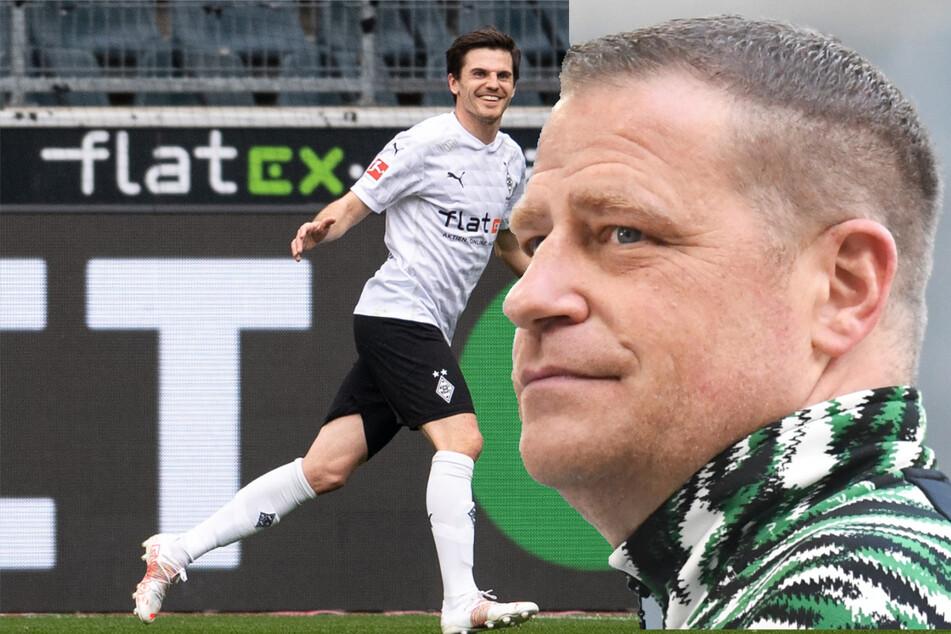 Jonas Hofmann (28) wurde bereits mit ausländischen Top-Klubs in Verbindung gebracht. Für 40 Millionen Euro kann er gehen, meint Max Eberl (47)