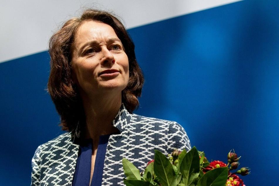 Katarina Barley (51, SPD) bekundete ihr Beileid.