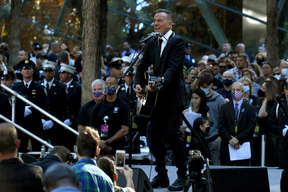 Bruce Springsteen performed at the ceremony.