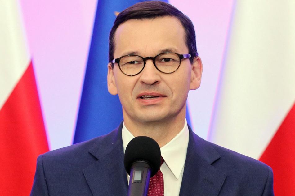 Ministerpräsident Mateusz Morawiecki.