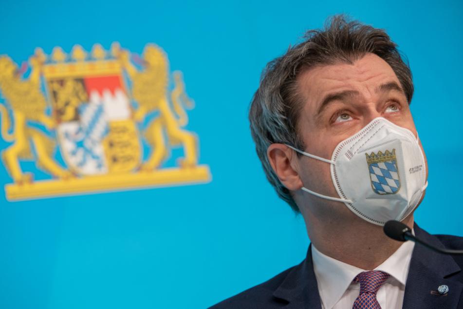 """Markus Söder (54, CSU), Ministerpräsident von Bayern, will keine """"Party to go""""."""
