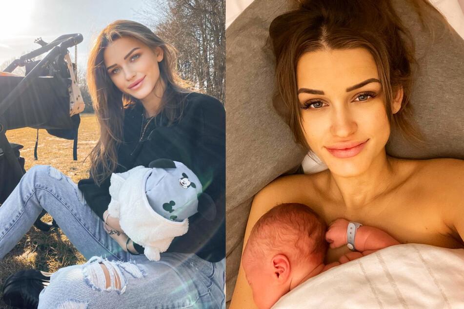 """GNTM-Neele über das Stillen ihres Sohnes: """"Liebe die Nähe zu meinem Kind"""""""