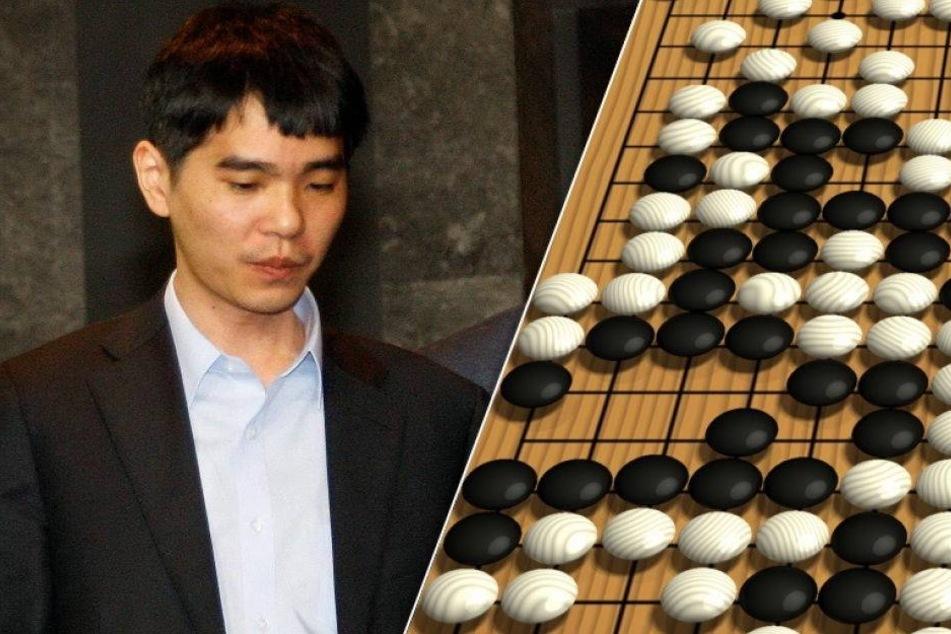 Brettspiel Go: Mensch verliert gegen Maschine