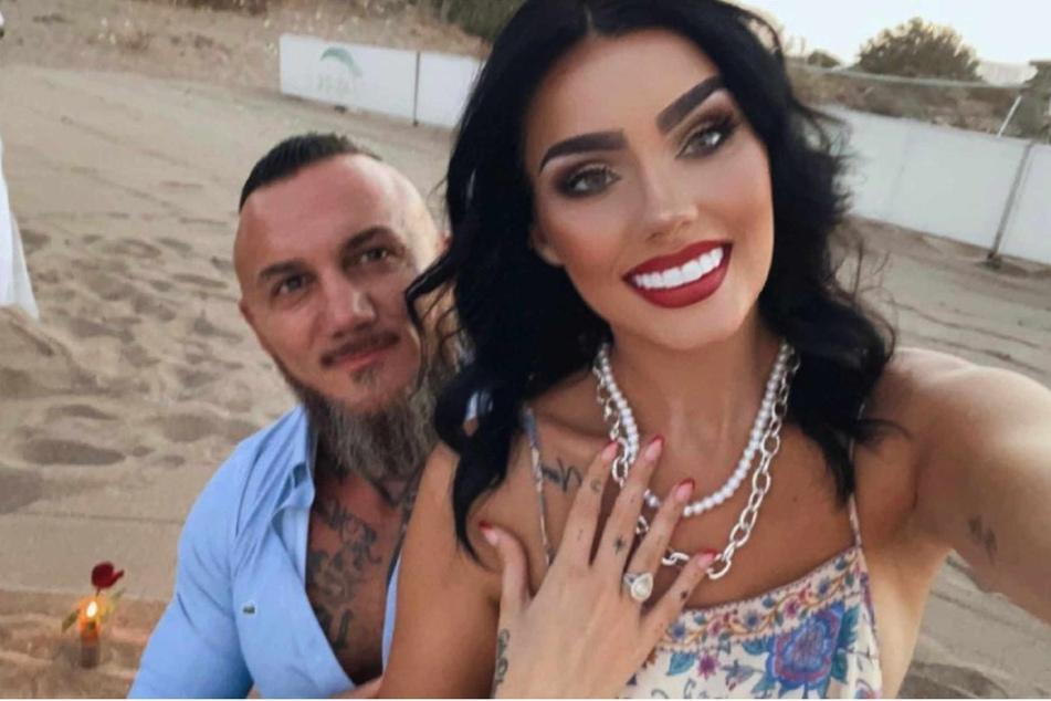 Nathalie Volk alias Miranda DiGrande (24) und ihr Partner Timur A. (43) haben sich verlobt.