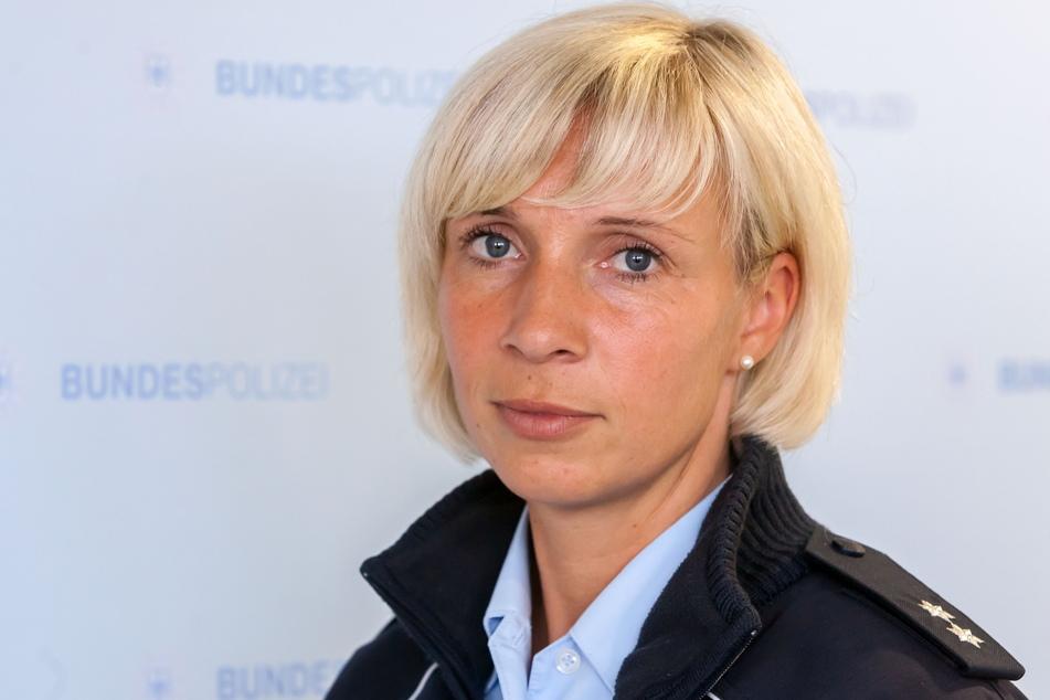 Bundespolizei-Sprecherin Anett Bochmann (38) will künftig reagieren.