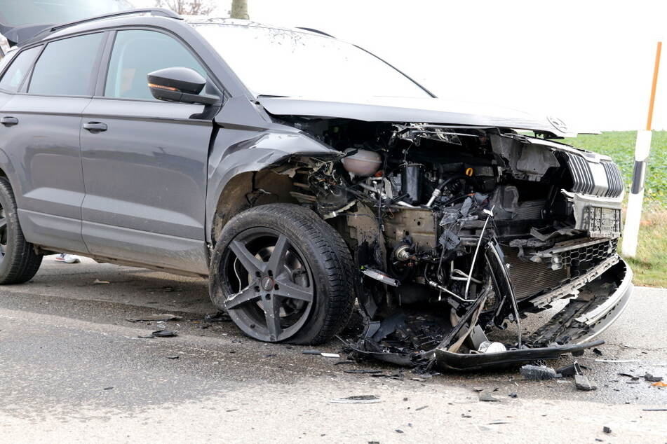 An beiden Skoda-Fahrzeugen entstand ein Totalschaden.