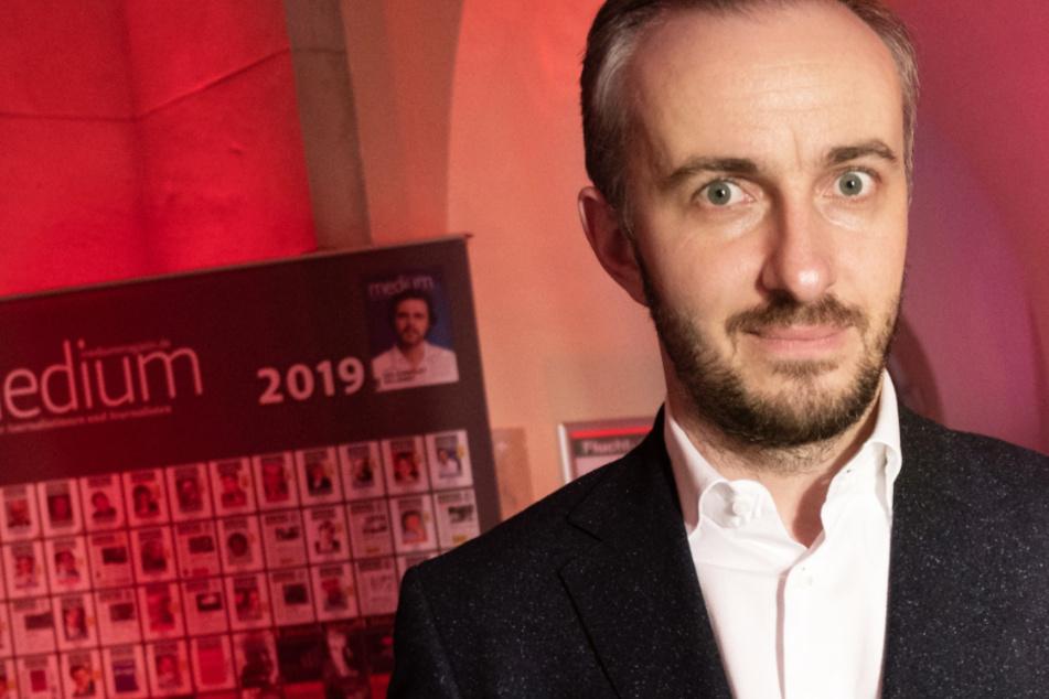 Das Foto aus dem Februar 2020 zeigt den Satiriker und TV-Entertainer Jan Böhmermann (39).