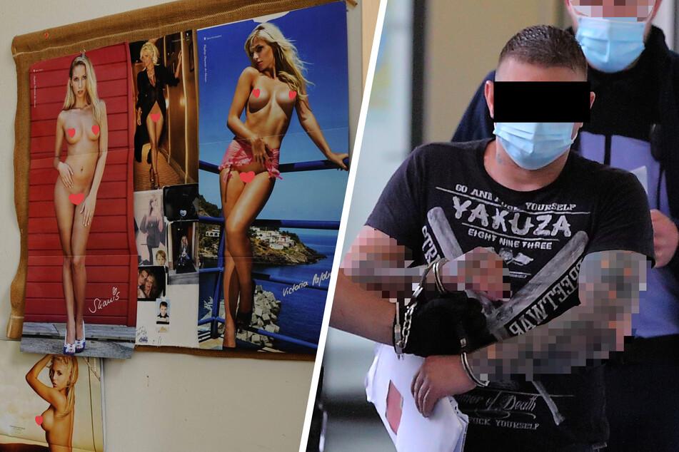 Wegen Nacktbildern an Zellenwänden: Häftling wegen Sachbeschädigung vor Gericht