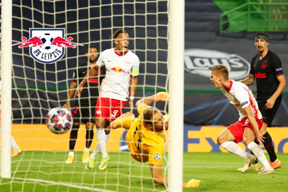 RB Leipzig triumphiert in Kampfspiel über Atlético Madrid und erreicht das Halbfinale!