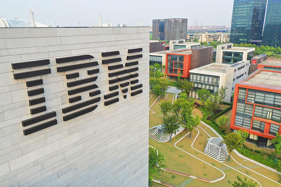 The IBM China Research Lab at AIsland of Zhangjiang Science City, part of an AI-supported business park in Shanghai.