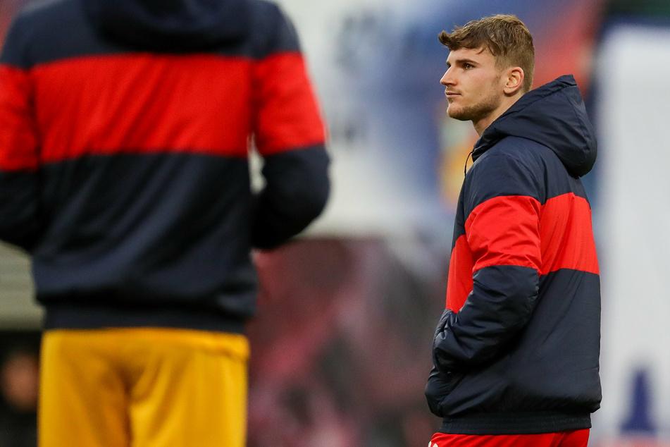 Am Samstag könnte RB auf Top-Stürmer Timo Werner verzichten müssen.