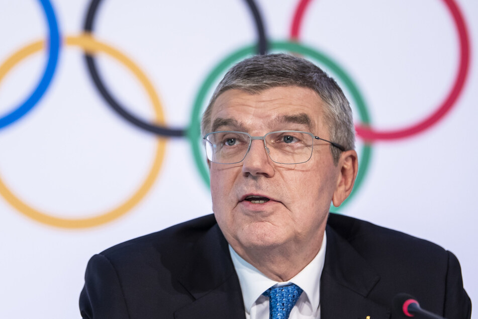 4. März 2020: Thomas Bach, Präsident des Internationalen Olympischen Komitees (IOC), spricht auf einer Pressekonferenz.