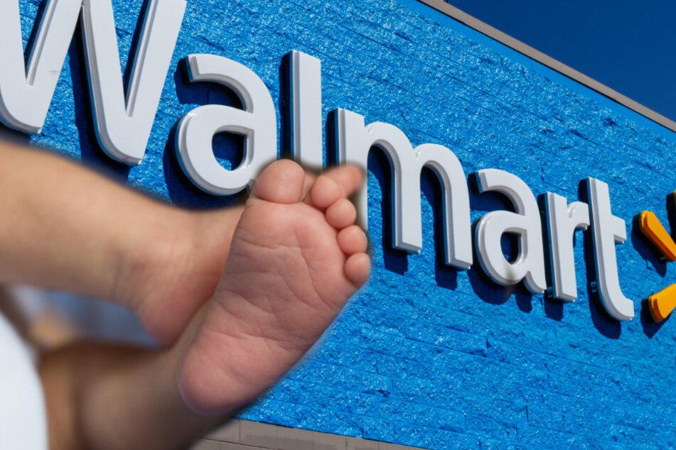 Frau gebärt Baby im Walmart mitten im Klopapiergang