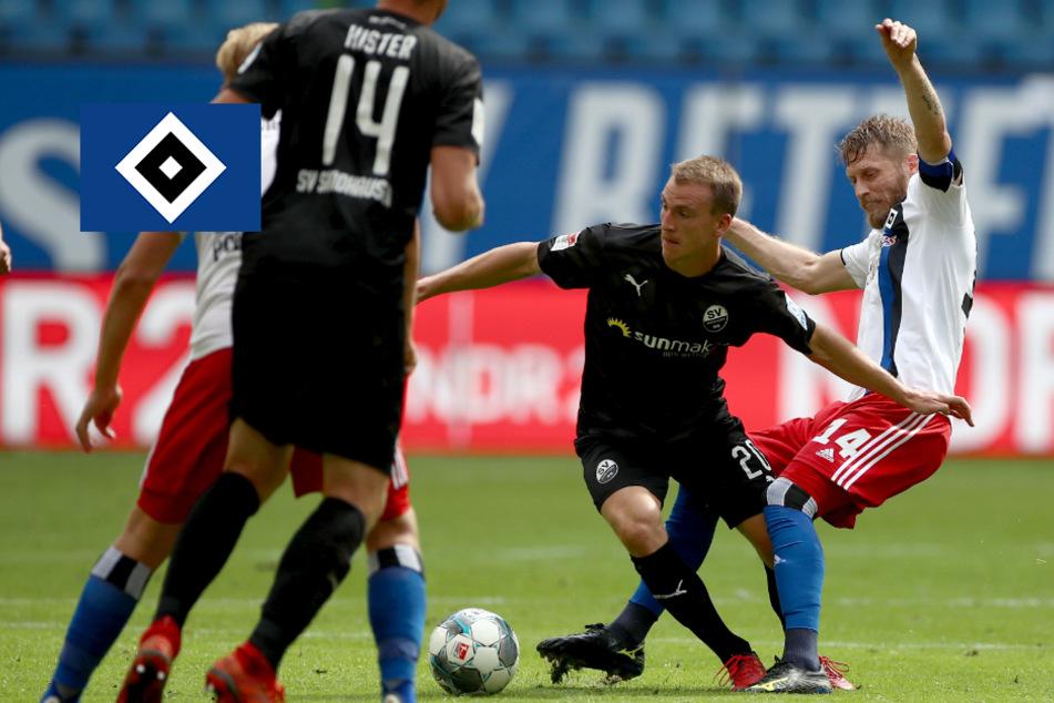 HSV mit Offenbarungseid! Hamburg blamiert sich gegen Sandhausen bis auf die Knochen