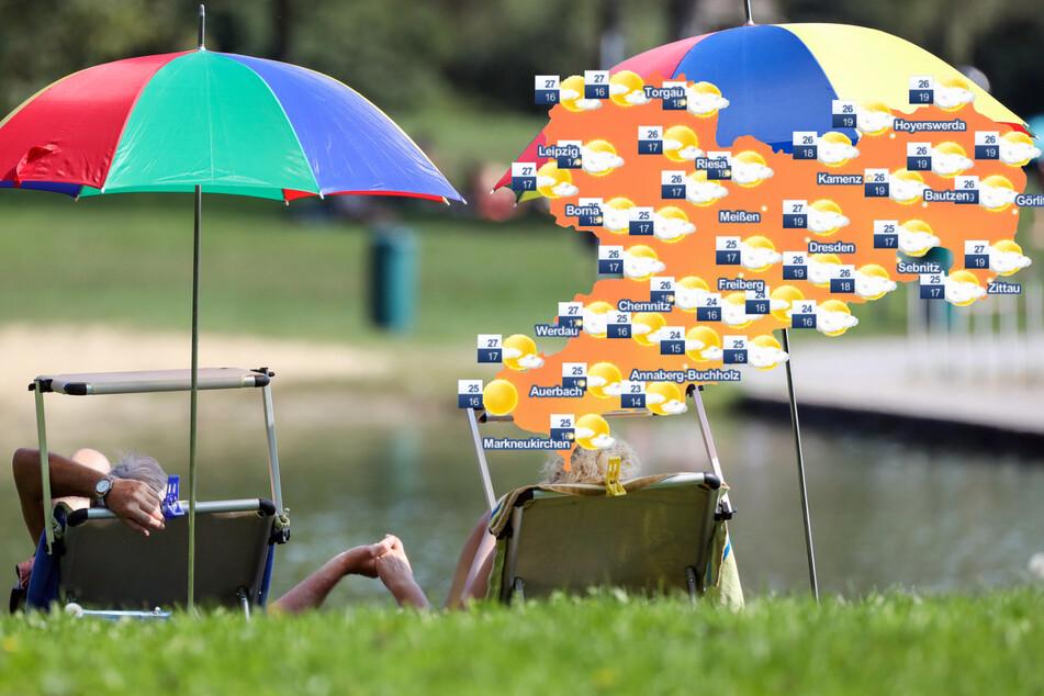 """Ab zum Badesee! """"Kleine Hitzewelle"""" wartet am Wochenende auf Sachsen"""