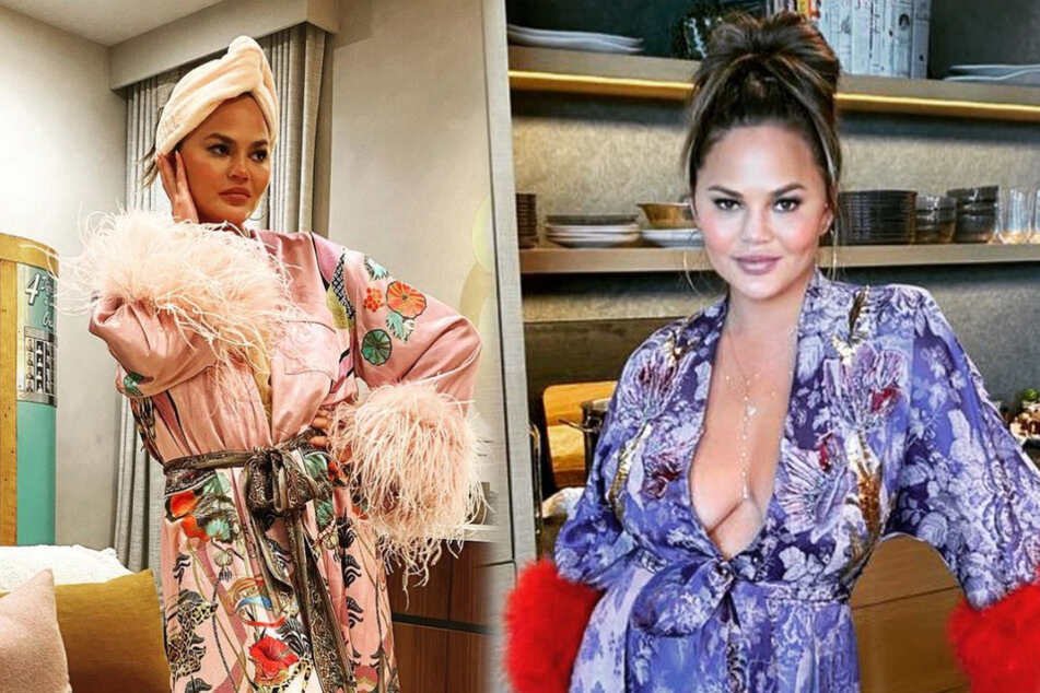 Chrissy Teigen reaches an important milestone as she recovers from her tragic miscarriage
