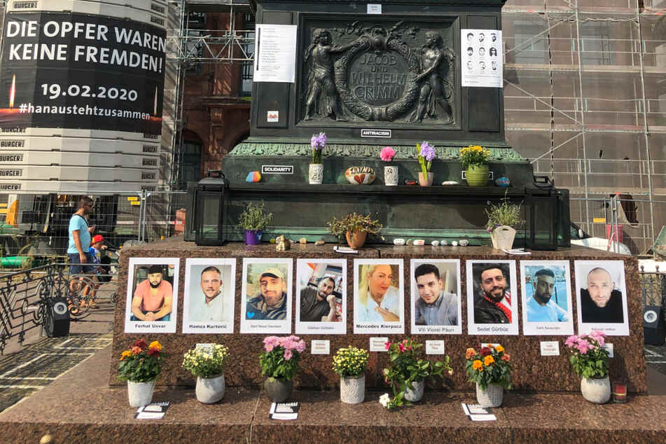 Anschlag von Hanau: Agehörige von Opfern wollen Bilder von Denkmal entfernen